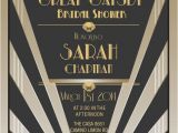Gatsby themed Party Invitations Gatsby themed Party Invitations Newest Braesd Com