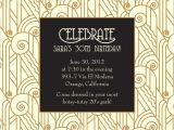 Gatsby themed Party Invitations Great Gatsby Party Invitations Ideas Printable