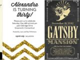 Gatsby themed Party Invitations Great Gatsby themed Party Dwell Beautiful