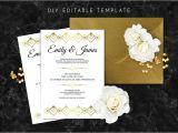 Gatsby Wedding Invitation Template Free Editable Wedding Invitation Template Great Gatsby Wedding