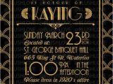 Gatsby Wedding Invitation Template Free Items Similar to Great Gatsby Bridal Shower Invitation