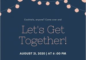 Get together Party Invitation Message Get to Her Invitation Template – orderecigsjuicefo