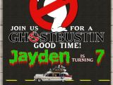 Ghostbusters Birthday Party Invitations Ghostbusters Birthday Party Invitation