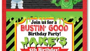 Ghostbusters Birthday Party Invitations Ghostbusters Favor Tags [di 314ft] Ministry Greetings