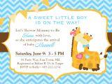 Giraffe Baby Shower Invitations Template Design Giraffe Baby Shower Invitations