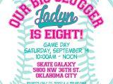 Girl softball Birthday Invitations Custom softball or Baseball Birthday Invitation Boys