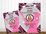 Girl softball Birthday Invitations Printable Girls softball Birthday Invitation by Oursecretplace