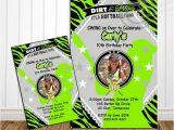 Girl softball Birthday Invitations Printable Girls softball Birthday Party Girls by