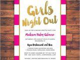 Girls Night Party Invitation Wording Bachelorette Party Girls Night Out Invitation Card by