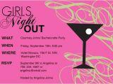 Girls Night Party Invitation Wording Ladies Party Invitation Wording Girls Night L Party