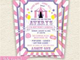 Girly Birthday Invitations Free Printable Girly Carnival Birthday Party Printable Invitation Pink