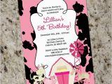 Girly Birthday Invitations Free Printable Girly Farm themed Birthday Party Invitation Printable