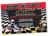 Go Kart Birthday Invitation Template Go Kart Birthday Party Invitation Go Kart Racing Party