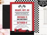 Go Kart Birthday Invitation Template Race Car Boy Birthday Invitation Template Boy Birthday Party