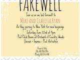 Going Away Party Invitation Wording Farewell Invite Picmonkey Creations