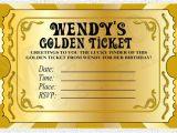Golden Ticket Birthday Invitation Template Chocolate Factory Golden Ticket Digital File Printable
