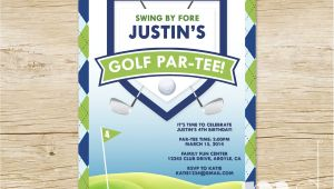 Golf themed Party Invitations Golf themed Birthday Invitations Ideas Bagvania Free