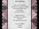 Gothic Party Invitations Gothic Dinner Party Chic Party Ideas
