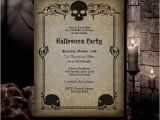 Gothic Party Invitations Halloween Invitation Halloween Party Invitation Gothic