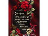 Gothic Party Invitations Personalized Gothic Birthday Invitations