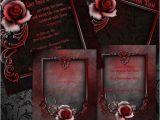Gothic Party Invitations Wedding Invitation Wording Gothic Wedding Invitation