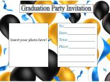 Graduation Inserts Inviting to Party Printable Graduation Party Invitations Template Best Templ