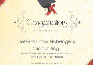Graduation Invitation Card Sample Graduation Dinner Invitation Card Sample orderecigsjuice