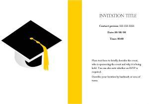 Graduation Invitation Card Sample Sample Invitation Graduation Cards Image Collections