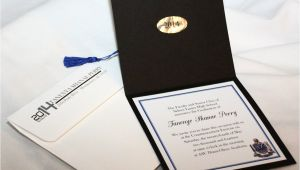 Graduation Invitation Envelopes Personalized Graduation Cap Invitations with Envelopes