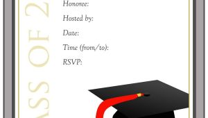 Graduation Invitation Free Templates 40 Free Graduation Invitation Templates Template Lab