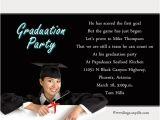 Graduation Invitation Wordings Graduation Party Invitation Wording Wordings and Messages