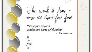 Graduation Invitations Templates 40 Free Graduation Invitation Templates Template Lab