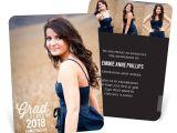 Graduation Invitations with Photos Favorite Photo Vertical Graduation Announcements Pear Tree