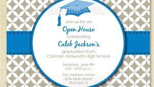 Graduation Open House Invites Graduation Invitation Open House Invitation by Mommiesink