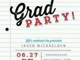 Graduation Paper for Invitations School Paper Graduation Invitation Graduation Invitations