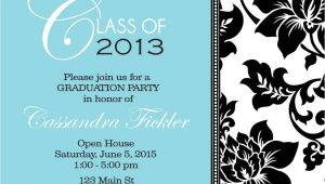 Graduation Party Invitation Borders Floral Border Graduation Party Invitations by Announceitfavors