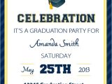 Graduation Party Invitation Examples Invitation Wording for College Graduation Party Choice