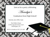 Graduation Party Invitation Postcard Templates Free Graduation Invitation Templates Free Best Template