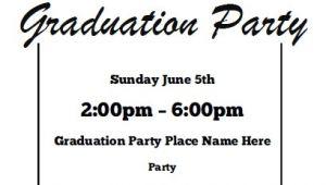 Graduation Party Invitations Free Printable Graduation Party Invitations Free Printable