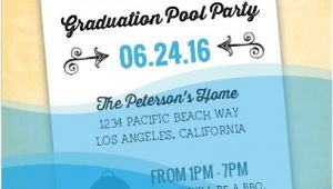 Graduation Pool Party Invitation Ideas Graduation Pool Party Ideas Decorations Invitations