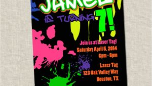 Graffiti Birthday Party Invitations Graffiti Birthday Party Invite 80s Birthday by Miragreetings