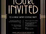 Great Gatsby Party Invitation Template Free 11 Best Images About ordination Invitations On Pinterest