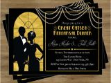 Great Gatsby Party Invitation Template Free Great Gatsby Invitation Rehearsal Dinner Invitation