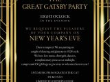 Great Gatsby Party Invitation Template Free Great Gatsby Party Invitation Template Free Great Gatsby
