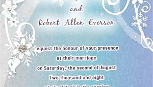 Hallmark Party Invitations Templates Hallmark Wedding Invitation Template