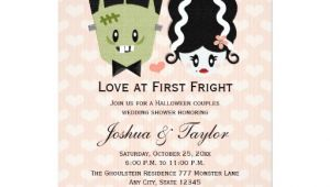 Halloween Bridal Shower Invitations Halloween Couples Wedding Shower Invitations