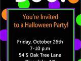 Halloween Party Invite Template Halloween Party Invitation Printable