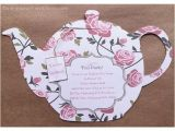 Handmade Tea Party Invitation Ideas 1000 Ideas About Tea Party Invitations On Pinterest Tea