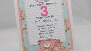 Handmade Tea Party Invitations Handmade Tea Party Invitations Set Of 10