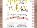 Happily Ever after Party Invitations Best 25 Wedding after Party Ideas On Pinterest Guest